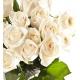 Composició floral de roses blanques
