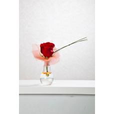 Bombeta amb rosa